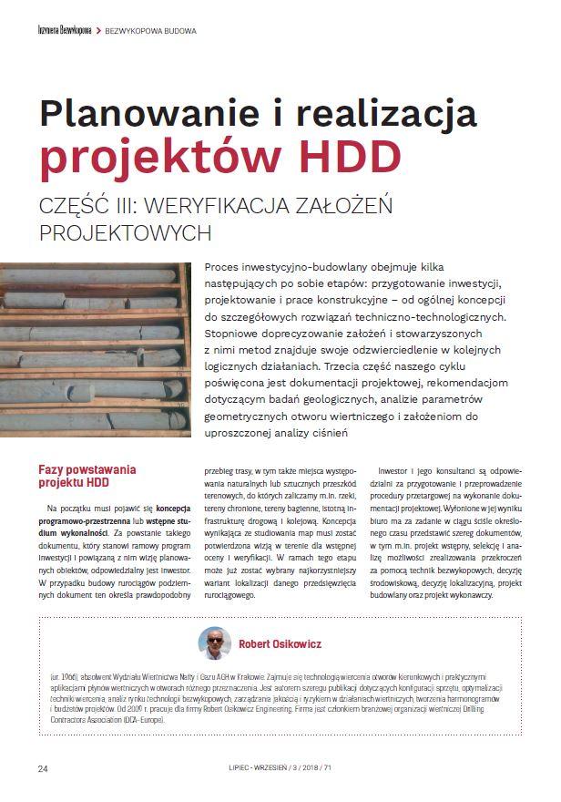 Planowanie irealizacja projektów HDD cz.3 - zdjecie tytulowe