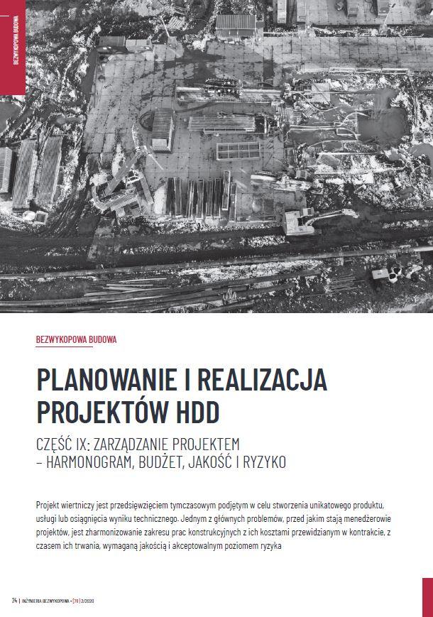 Planowanie_i_realizacja_projektow_HDD_cz.9 zdjecie