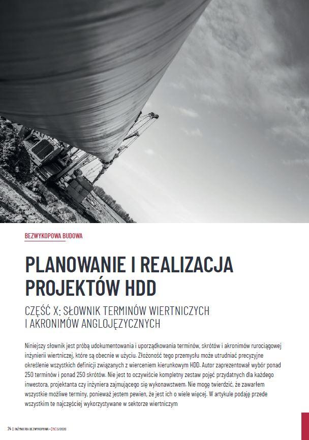 Planowanie_i_realizacja_projektow_HDD_cz.10 zdjecie
